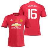 Manchester United EFL Cup Final Home Shirt 2016-17 with Carrick 16 printing