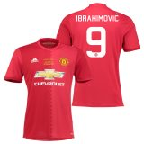 Manchester United EFL Cup Final Home Shirt 2016-17 with Ibrahimovic 9 printing