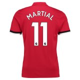 Manchester United Home Shirt 2017-18 with Martial 11 printing