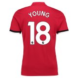 Manchester United Home Shirt 2017-18 Young 18