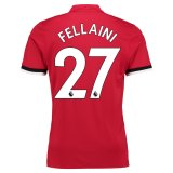 Manchester United Home Shirt 2017-18 Fellaini 27