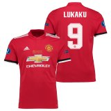 Manchester United Super Cup Final Home Shirt 2017-18 with Lukaku 9 printing