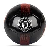 Manchester United Band Crest Football - Black-Red-White - Size 5