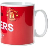Manchester United Europa League 2017 Winners Mug - Red