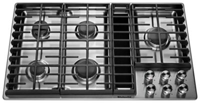 Simple Kitchenaid 5 Burner Gas Grill Downdraft Cooktop To Inspiration Decorating