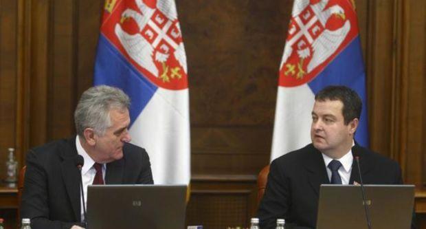 sednica vlade, kosovo, Nikolić, Vučić, Dačić, foto bet