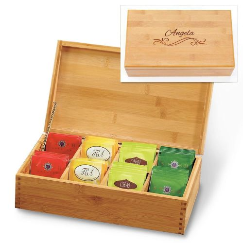 Medium Of Wooden Tea Box
