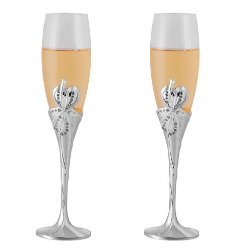 Medium Crop Of Personalized Champagne Flutes