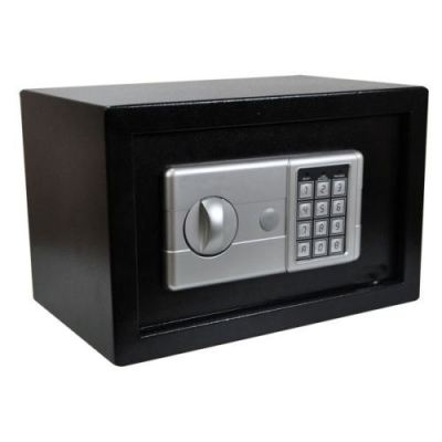 NEW ELECTRONIC DIGITAL Home Safe High Security Steel Personal Money Cash Box - £25.99 | PicClick UK