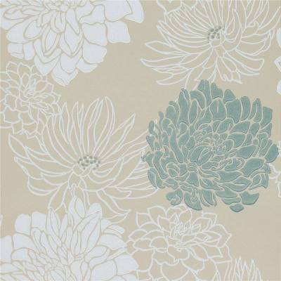 Cream / Teal / Silver / Gold - 30483 - Divine - Extravagance Harlequin Wallpaper | eBay