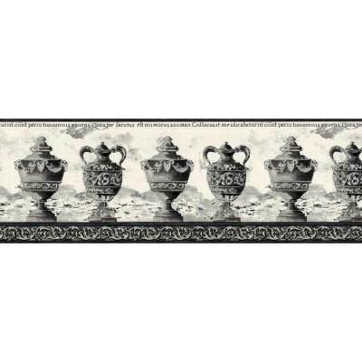 black and white wallpaper border 2017 - Grasscloth Wallpaper