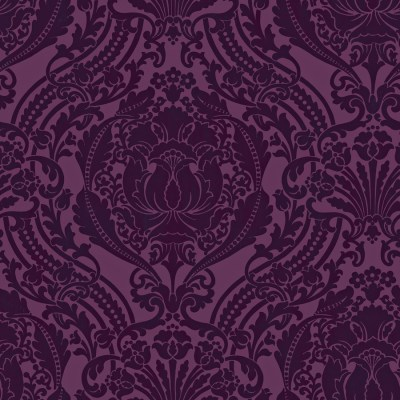 Shop allen + roth Purple Strippable Non-Woven Paper Prepasted Wallpaper at Lowes.com