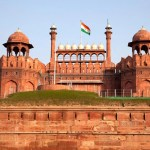Red Fort at New Delhi, India