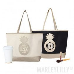 Formidable Monogrammed Pineapple Tote Bag Personalized Totes Bags Monogrammed Purses Wallets Monogrammed Tote Bags Cheap Monogrammed Tote Bags Canvas