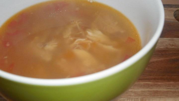 Paleo Sopa de Ajo Mexicana (Mexican Garlic Soup)