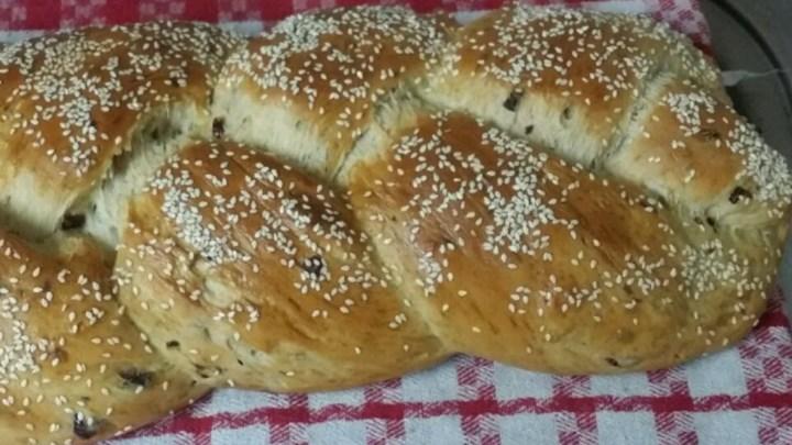 Paleo Bread Machine Challah for Shabbat and Festivals