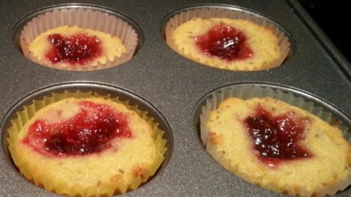 Paleo Paleo Jelly Donut Cupcakes