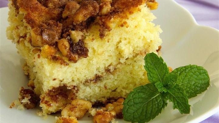 Paleo Shari's Streusel Coffee Cake