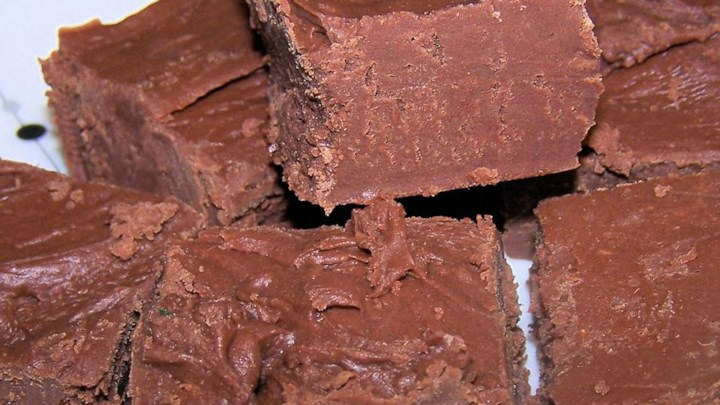 Paleo Duo-Chocolate Fudge