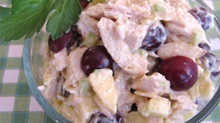 Paleo Sonny's Waldorf Turkey Salad