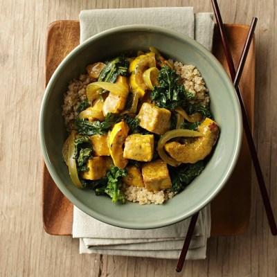 Delicata Squash & Tofu Curry Recipe - EatingWell