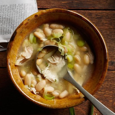 Chicken & White Bean Soup Recipe - EatingWell