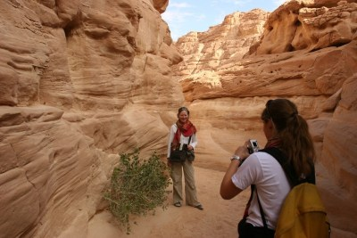 Colored Canyon in Sinai