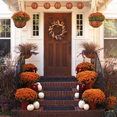 Ideas and Inspiration for Creative Living: Outdoor Fall Decor