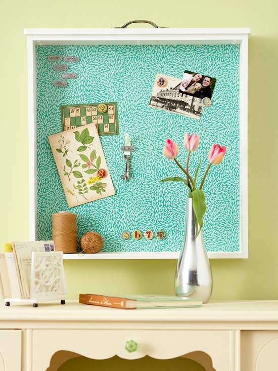 foto Creative DIY Jewelry Storage Mirror