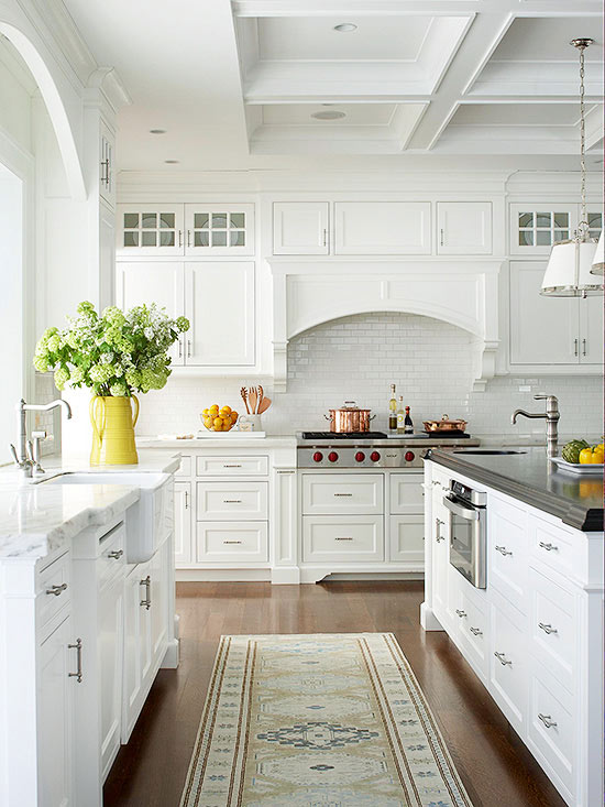 White Kitchen Decor Ideas   The 36th AVENUE White Kitchen Decor Ideas   Gorgeous white kitchen makeovers and great tips  and ideas of how