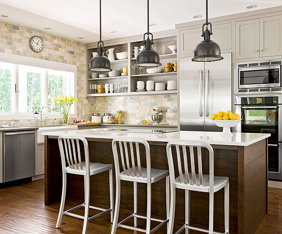 1 of 21 kitchen lighting solutions t