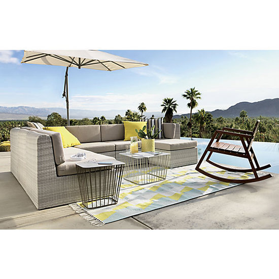 attention our summer outdoor rug roundup is hereu003eu003e source furniture napa bar side u