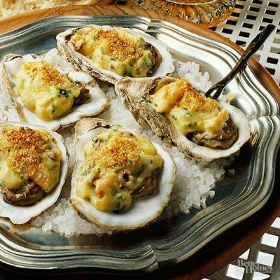 Oysters Bienville