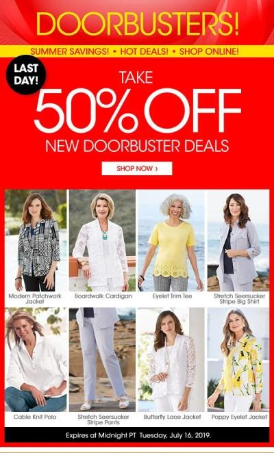 Draper's & Damon's: Last Chance For 50% Savings + More | Milled