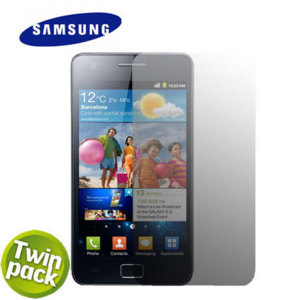 Official Samsung Galaxy S2 Screen Protector - Twin Pack