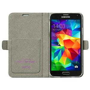 Zenus Liberty of London Galaxy S5 Diary Case - Navy Ivy