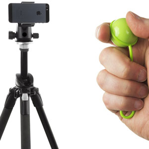 Shutterball Remote Camera Shutter and Smart Stand
