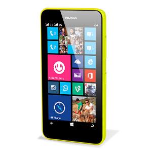 Official Nokia Lumia 635 / 630 Shell - Yellow