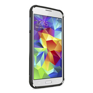 Belkin Air Protect Grip Samsung Galaxy S5 Bumper Case - Black / Grey