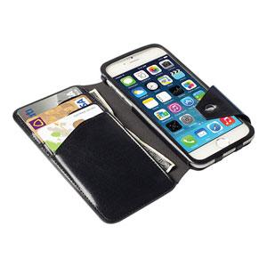 Krusell Kalmar iPhone 6 Flip Wallet Case - Black