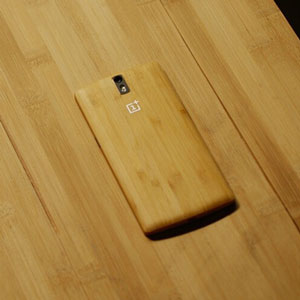ToughGuard OnePlus One Bamboo Replacement Back Cover