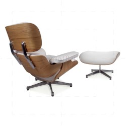Small Crop Of Eames Style Chair And Ottoman