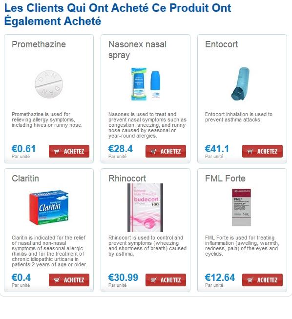 Achat Fluticasone and Salmeterol Medicament France