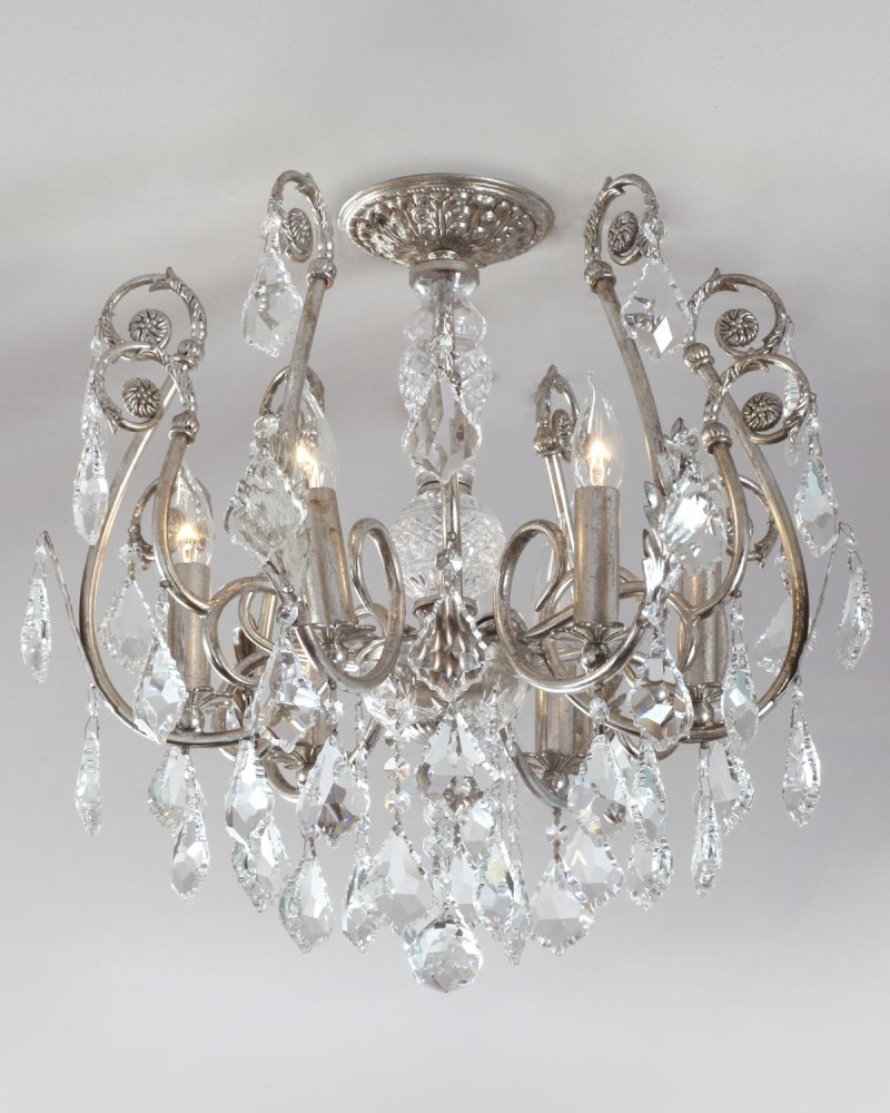 Large Of Flush Mount Chandelier