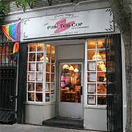 West Villages Iconic Pink Teacup Opening In Harlem