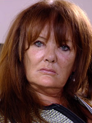 Jan Rayment targetted by Helen Wood [ITVBe]