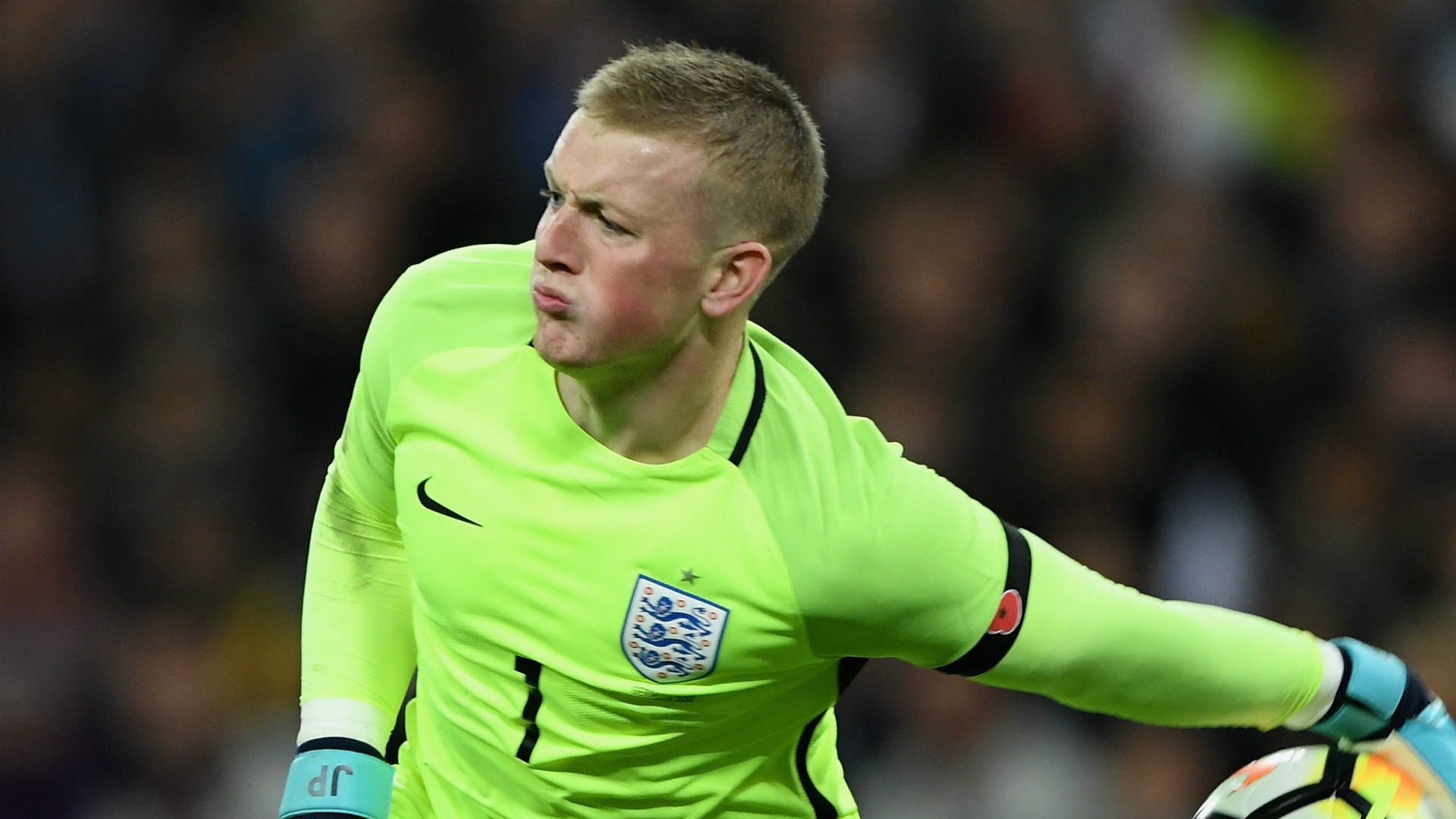 Jordan Pickford produces the goods to prove he s England s No 1     Jordan Pickford England