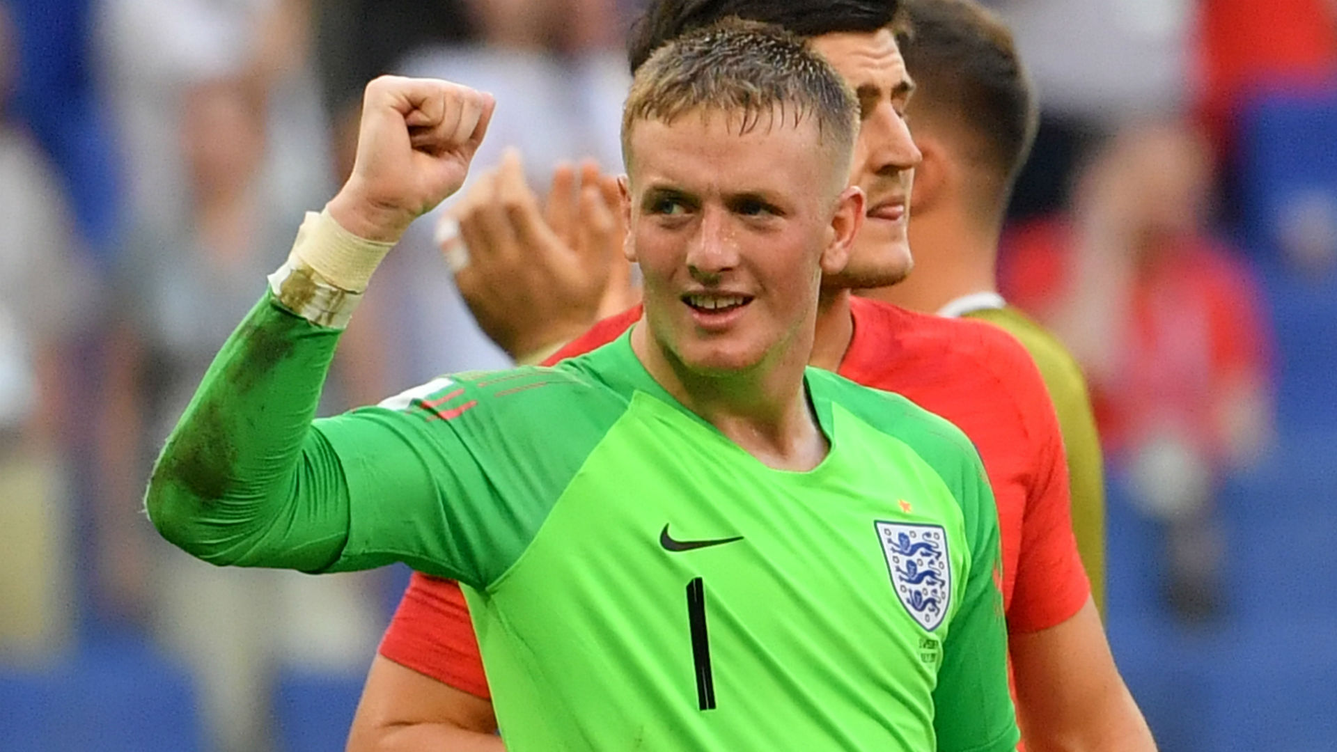 Bayern Munich transfer news  Jordan Pickford urged to ignore     Jordan Pickford England Sweden