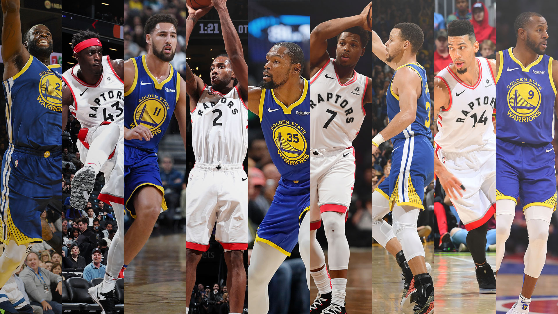 NBA Finals 2019: Ranking every player on the Toronto Raptors and Golden State Warriors | NBA.com