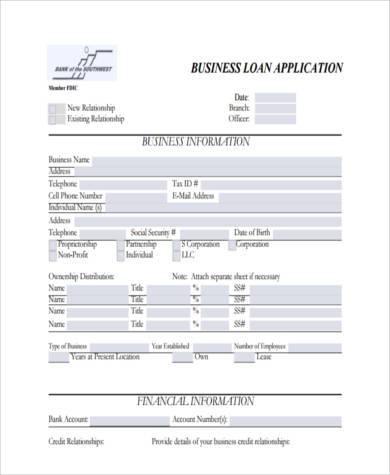 7+ Business Form Samples - Free sample, Example Format Download